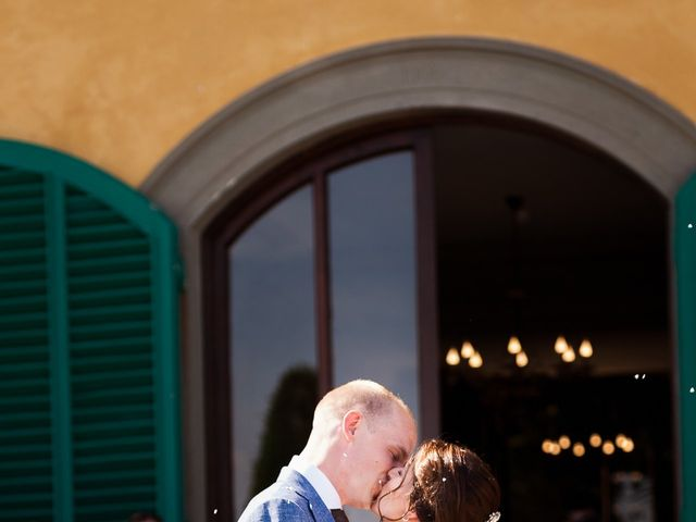 Il matrimonio di Elenor e Mathias a Incisa in Val d'Arno, Firenze 35