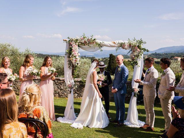 Il matrimonio di Elenor e Mathias a Incisa in Val d'Arno, Firenze 36