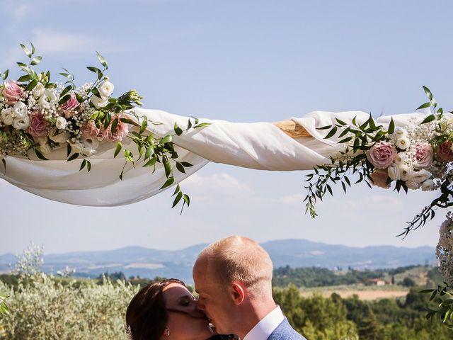 Il matrimonio di Elenor e Mathias a Incisa in Val d'Arno, Firenze 38