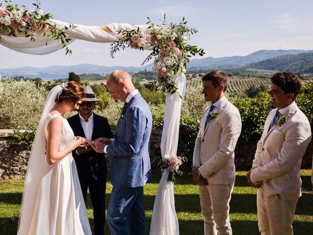 Il matrimonio di Elenor e Mathias a Incisa in Val d'Arno, Firenze 39