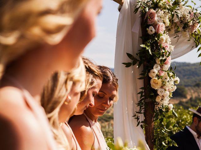 Il matrimonio di Elenor e Mathias a Incisa in Val d'Arno, Firenze 42