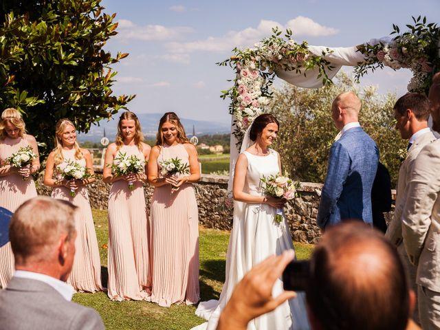 Il matrimonio di Elenor e Mathias a Incisa in Val d'Arno, Firenze 45