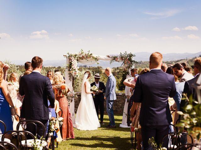 Il matrimonio di Elenor e Mathias a Incisa in Val d'Arno, Firenze 46