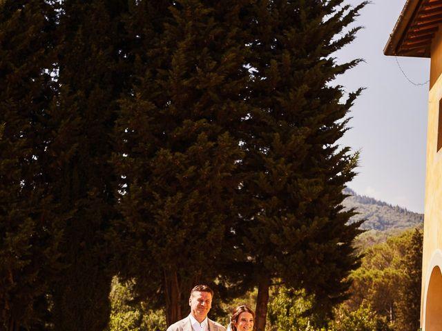 Il matrimonio di Elenor e Mathias a Incisa in Val d'Arno, Firenze 47