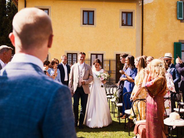 Il matrimonio di Elenor e Mathias a Incisa in Val d'Arno, Firenze 48