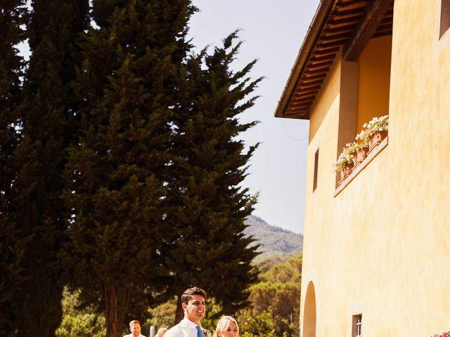 Il matrimonio di Elenor e Mathias a Incisa in Val d'Arno, Firenze 49
