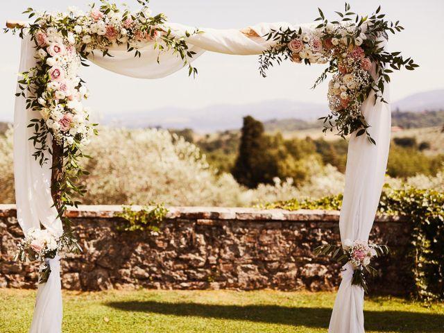 Il matrimonio di Elenor e Mathias a Incisa in Val d'Arno, Firenze 52