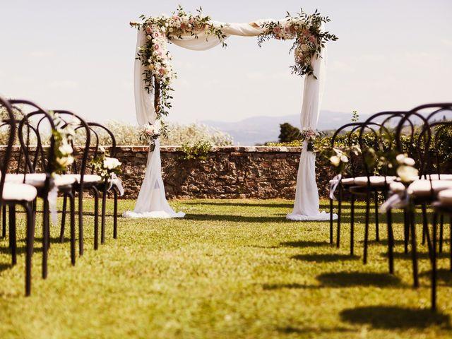 Il matrimonio di Elenor e Mathias a Incisa in Val d'Arno, Firenze 55