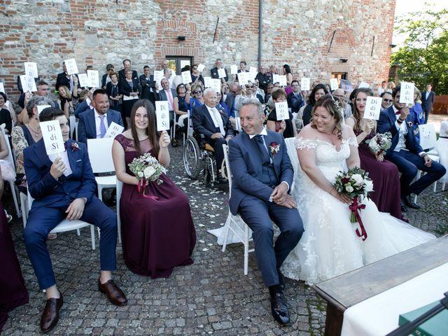 Il matrimonio di Vincenzino e Monica a Ziano Piacentino, Piacenza 37