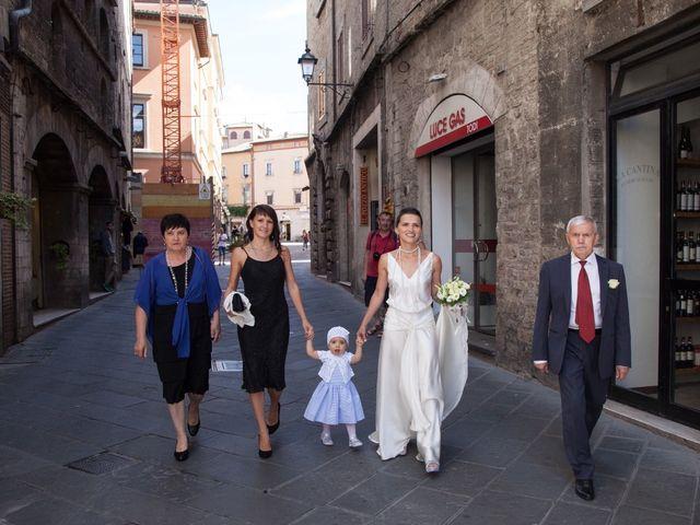 Il matrimonio di Andrea e Olga a Todi, Perugia 9