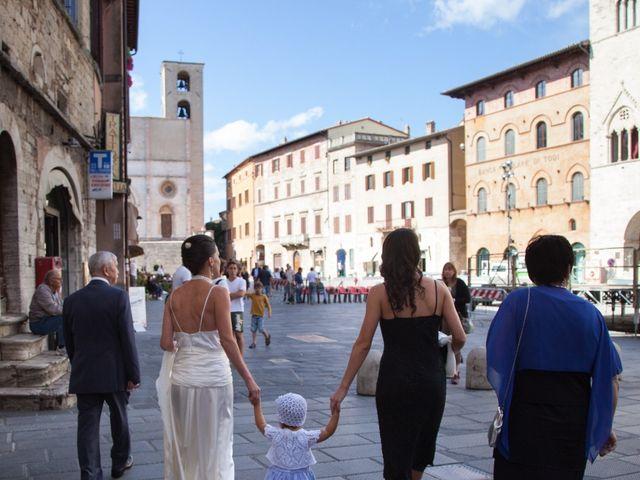 Il matrimonio di Andrea e Olga a Todi, Perugia 10