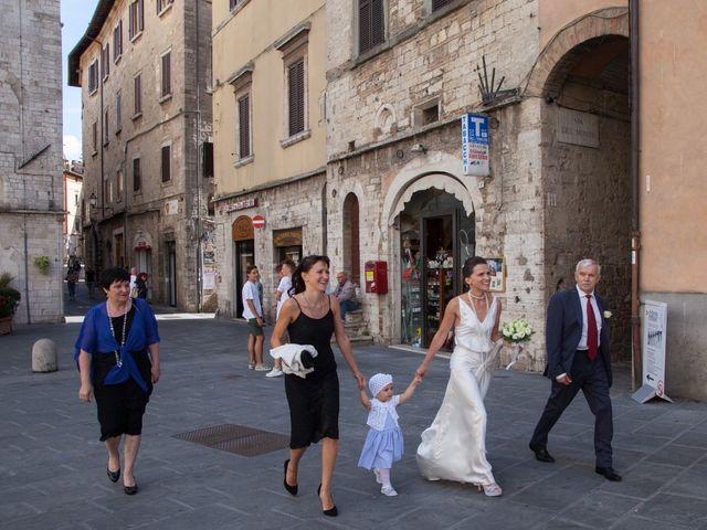 Il matrimonio di Andrea e Olga a Todi, Perugia 11