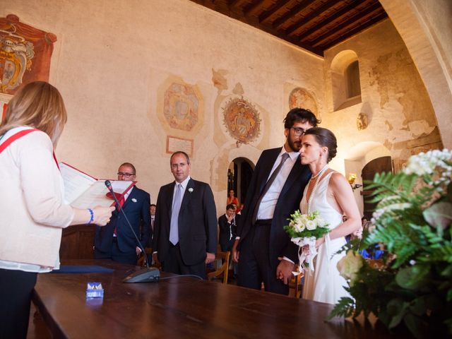 Il matrimonio di Andrea e Olga a Todi, Perugia 20
