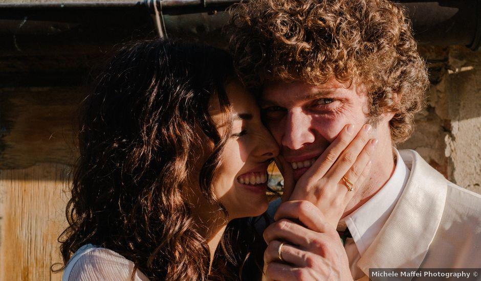 Il matrimonio di Robinson e Giulia a Portofino, Genova