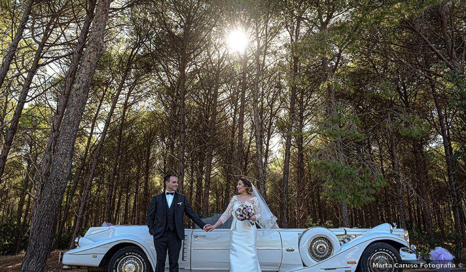Il matrimonio di Fabio e Calliope a Pisticci, Matera