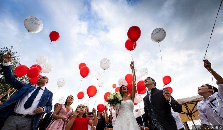 Il matrimonio di Alessandro e Viviana a Mentana, Roma