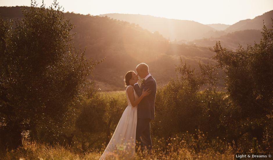 Il matrimonio di Elenor e Mathias a Incisa in Val d'Arno, Firenze
