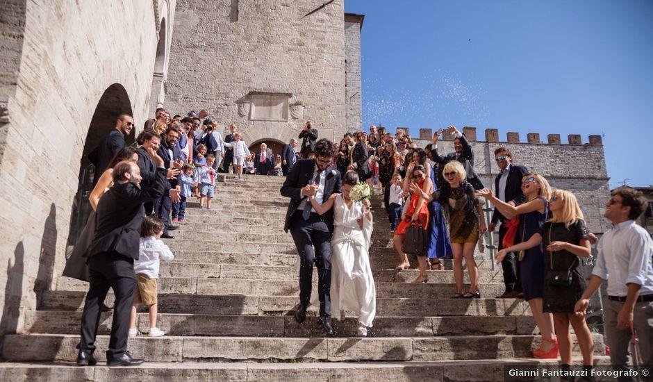 Il matrimonio di Andrea e Olga a Todi, Perugia