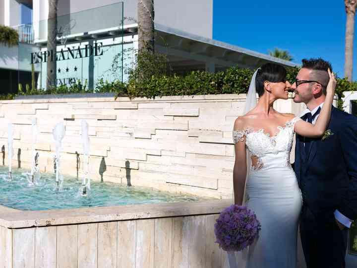 le nozze di Benedetta e Rosario