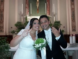 Le nozze di Chiara e Fabiano