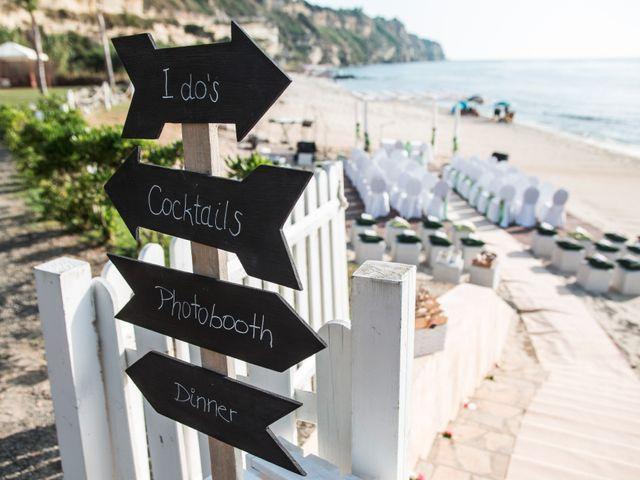 Matrimonio Spiaggia Tropea : Il matrimonio di francesco e natacha a tropea vibo valentia
