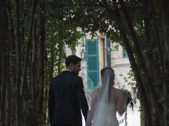 Il matrimonio di Marco e Lucy a Castel di Lama, Ascoli Piceno 35