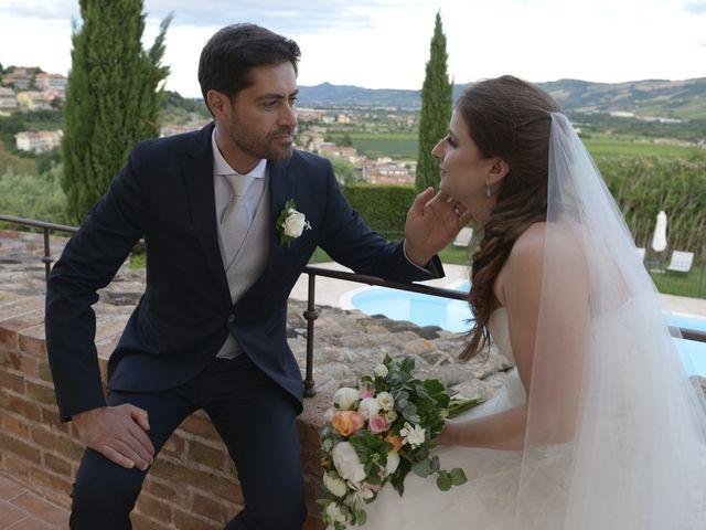 Il matrimonio di Marco e Lucy a Castel di Lama, Ascoli Piceno 39