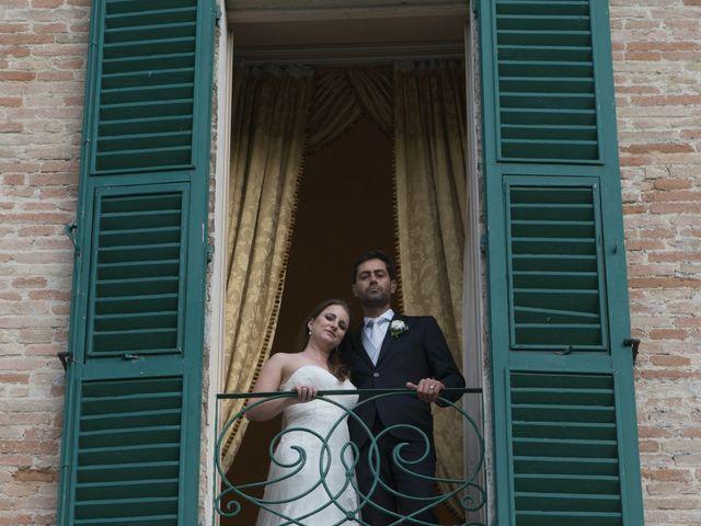 Il matrimonio di Marco e Lucy a Castel di Lama, Ascoli Piceno 43