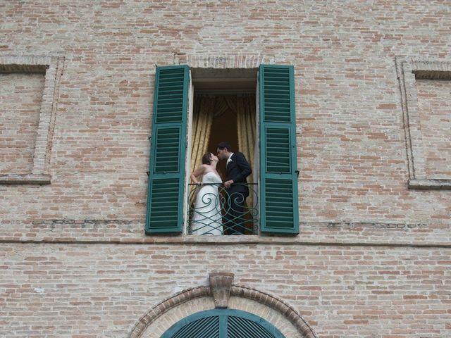 Il matrimonio di Marco e Lucy a Castel di Lama, Ascoli Piceno 44