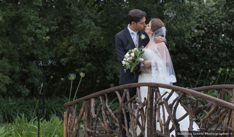 Il matrimonio di Marco e Lucy a Castel di Lama, Ascoli Piceno