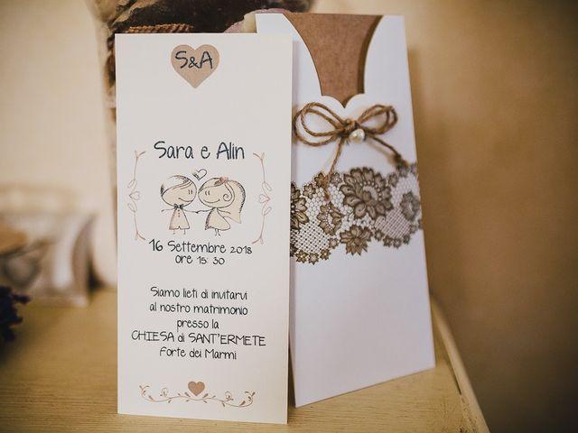 Il matrimonio di Alin e Sara a Forte dei Marmi, Lucca 20