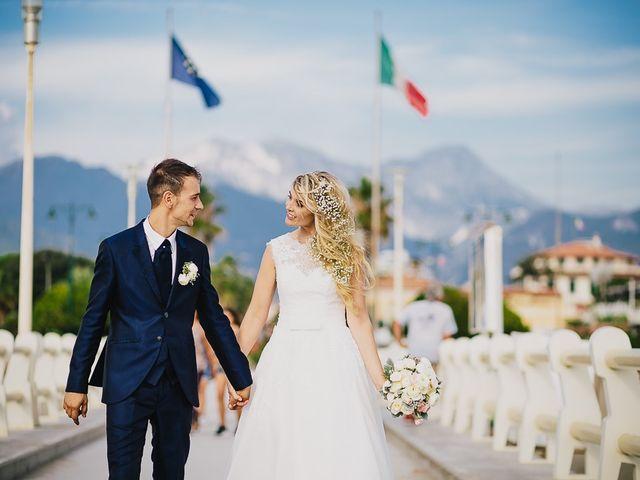 Il matrimonio di Alin e Sara a Forte dei Marmi, Lucca 51