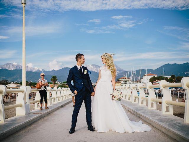 Il matrimonio di Alin e Sara a Forte dei Marmi, Lucca 53