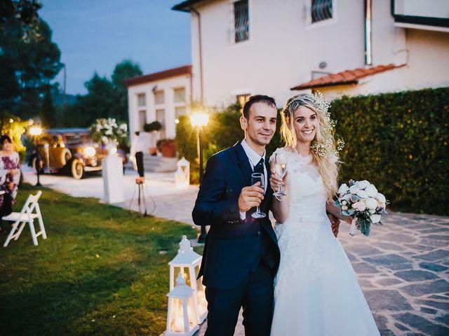 Il matrimonio di Alin e Sara a Forte dei Marmi, Lucca 76