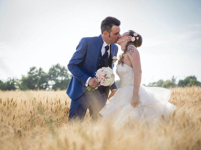 Le nozze di Tatiana e Alex