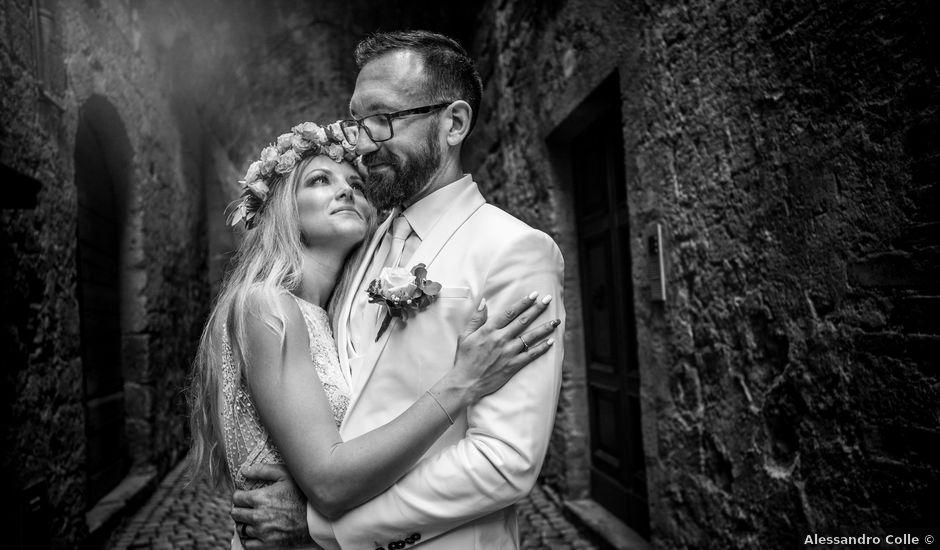 Il matrimonio di Ben e Lorna a Orvieto, Terni