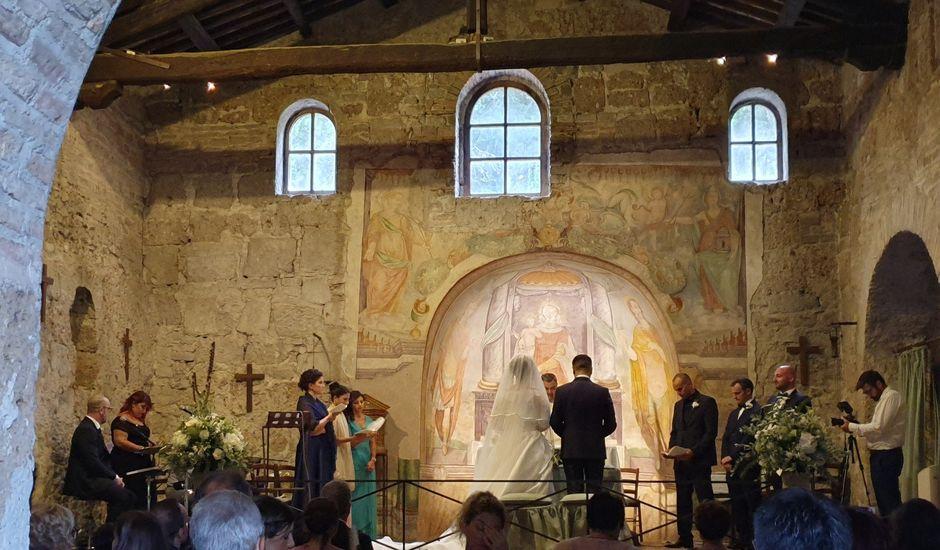 Il matrimonio di Salvatore e Claudia a Bracciano, Roma