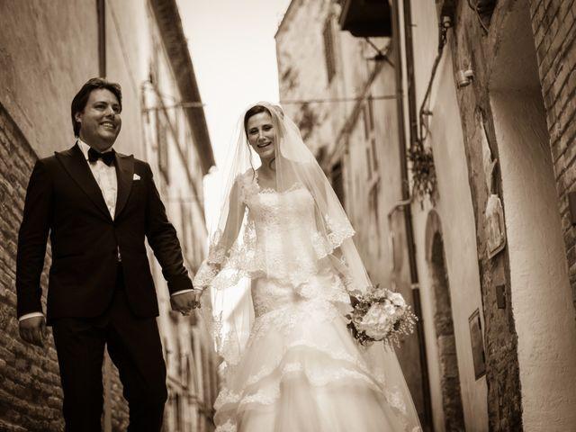 le nozze di Otilia e Cesare
