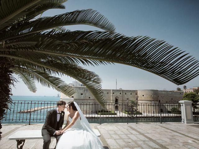 Il matrimonio di Vincenzo e Giusi a Taranto, Taranto 17