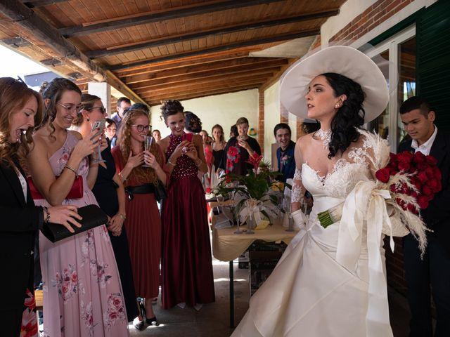 Il matrimonio di Francesco e Natascia a Mombasiglio, Cuneo 6