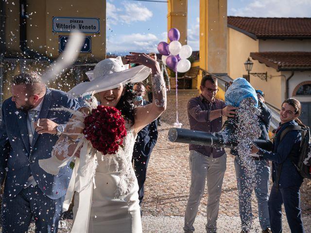 Il matrimonio di Francesco e Natascia a Mombasiglio, Cuneo 9