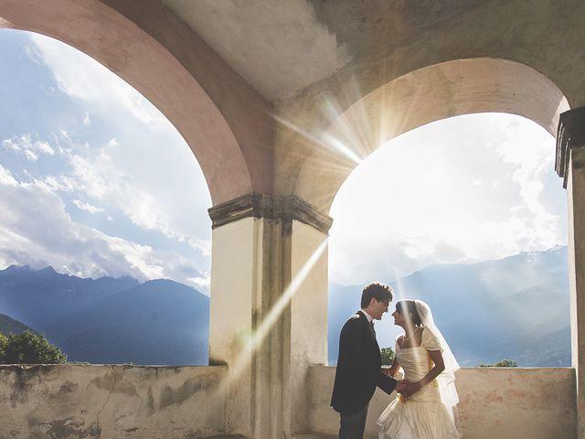 Il matrimonio di Andrea e Paola a Chiavenna, Sondrio 26