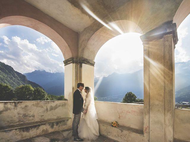 Il matrimonio di Andrea e Paola a Chiavenna, Sondrio 27