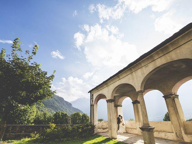 Il matrimonio di Andrea e Paola a Chiavenna, Sondrio 28