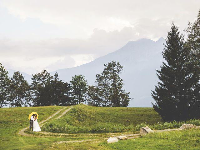 Il matrimonio di Andrea e Paola a Chiavenna, Sondrio 2