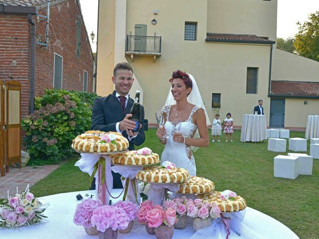 le nozze di Denise e Claudio