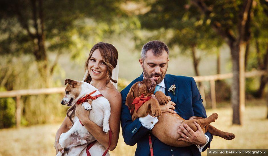 Il matrimonio di Cristina e Giovanni a Sutri, Viterbo