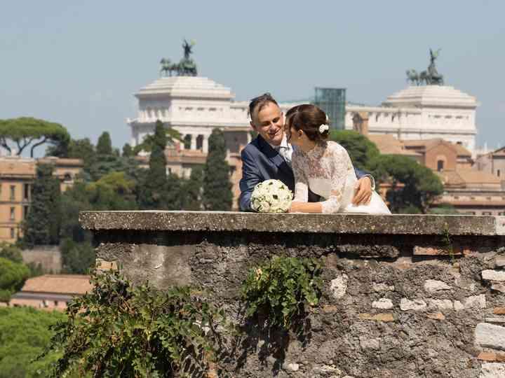 le nozze di Chiara e Sauro