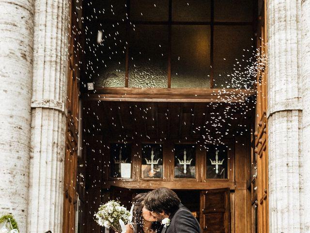 Il matrimonio di Valerio e Melania a Roma, Roma 12