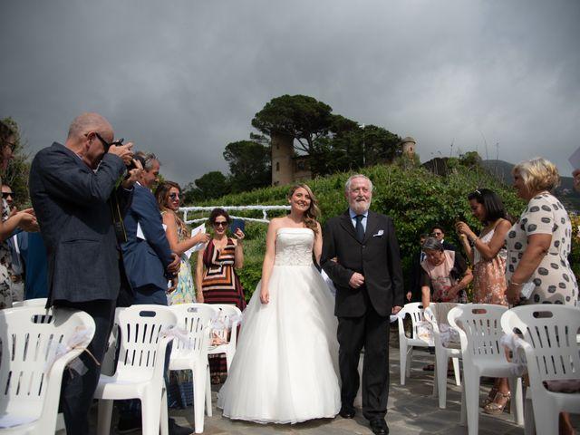Il matrimonio di Giacomo e Federica a Moneglia, Genova 17